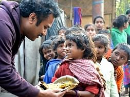 Support Chandra Sekhar Kundu feed hundreds of poor children