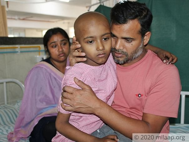 5 years old Rohit Saha needs your help fight Metastatic Ewing's Sarcoma