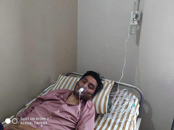 30 Years Old Mohasin khan Pathan Needs Your Help Fight Lung Transplant