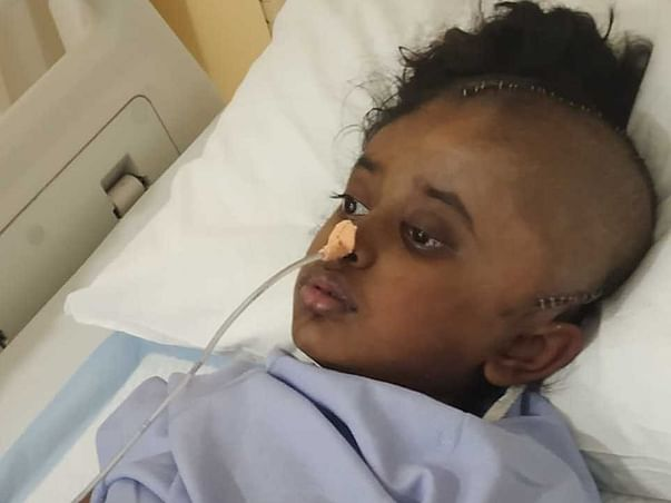 6 Years Old Kathyayini  Needs Your Help Fight Brain Stroke