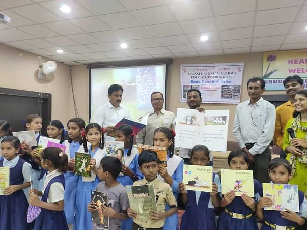 Support Government School Students to give the gift of Library Books