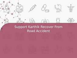 Support Karthik Recover From Road Accident