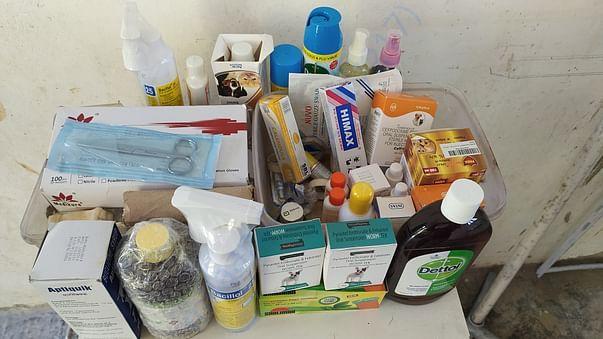 Supplies from Amazon Wishlist