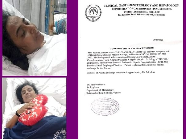 My Mother Is Struggling With Liver Diseases, Help Her