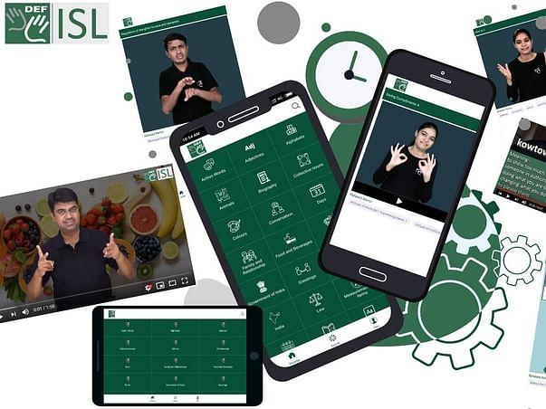 Support for DEF ISL (Sign Language App) Development