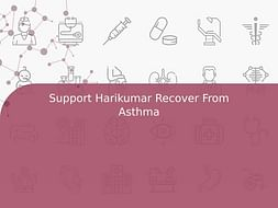 Support Harikumar Recover From Asthma