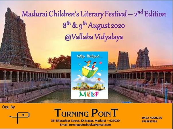 Madurai Children's Literary Festival - 2nd Edition