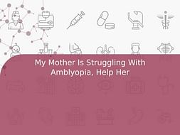 My Mother Is Struggling With Amblyopia, Help Her