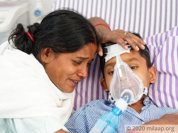 8 years old Biswajit Majhi needs your help to undergo heart transplant