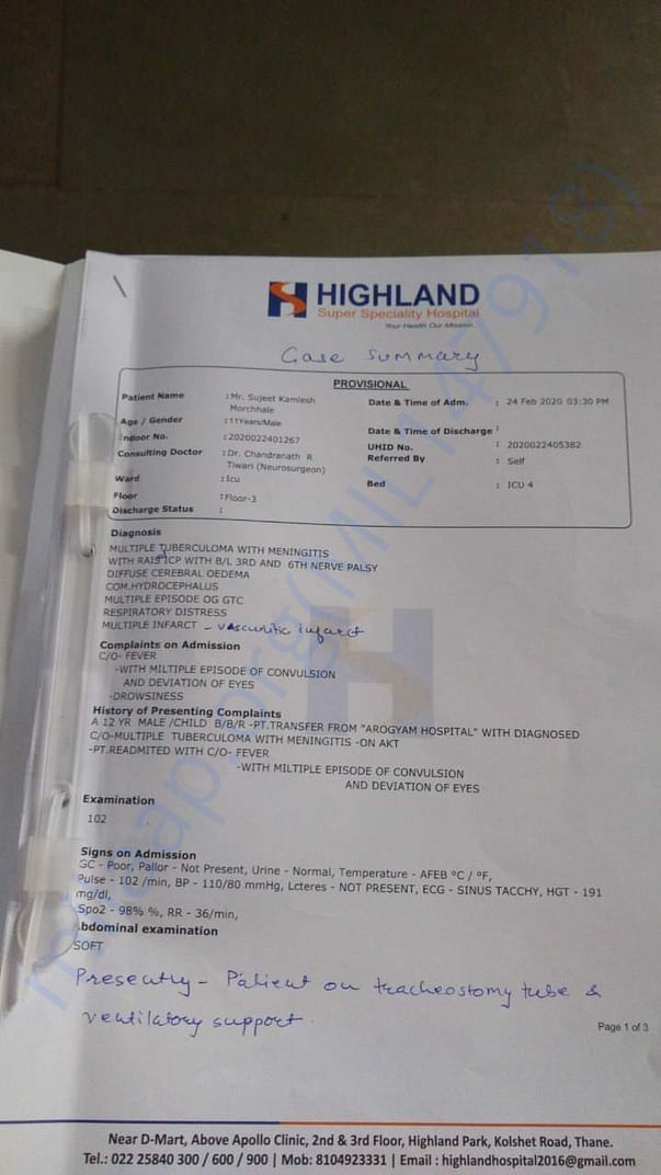 Hospital file