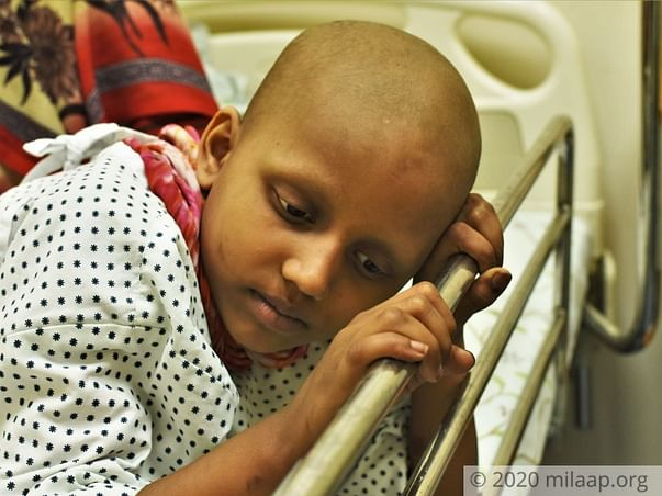 8 Years Old Bhumika Needs Your Help Fight Metastatic Germ Cell Tumors