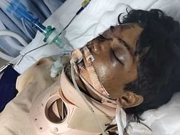 Support Aslam Recover From Brain Hemorrhage And Spine Injury