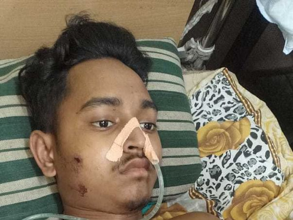 Support Md Talha Recover From Accidental Injuries