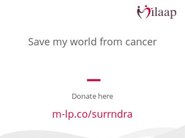 Save my father from cancer