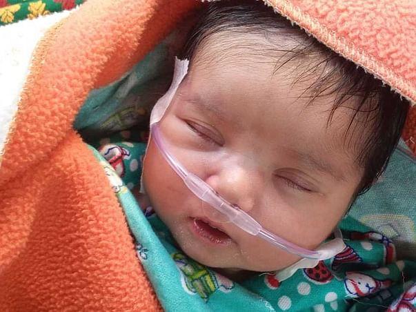 Help Rajvi fight CHD