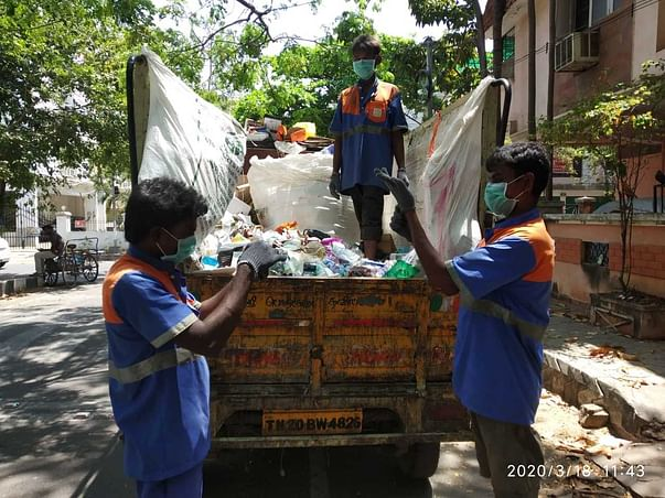 Contribute to Unsung Heroes Protecting Chennai Streets During COVID19