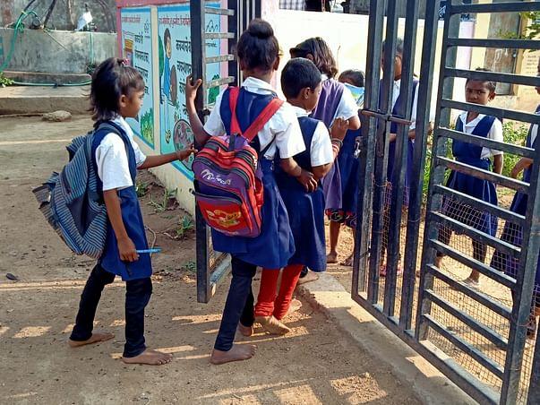 Charan Paduka Movement!! let's put chappal in Migrant's children feet