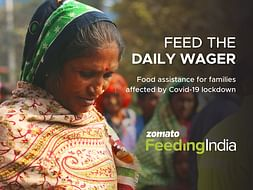 Feed the Daily Wager by Zomato Feeding India