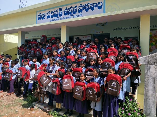 Schools kits distributed in 2019