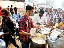 Humanity First: Hyderabad Man Distributes Free Food Outside Hospital