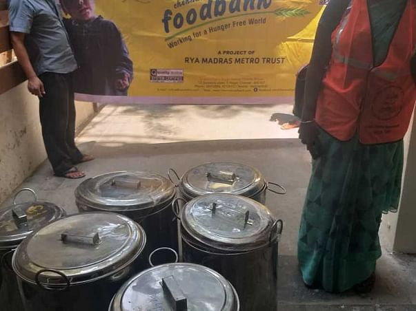 Feeding homeless, migrants during COVID-19 crisis- CFB Project