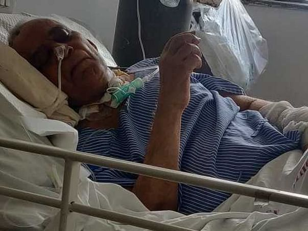 This 73 years old needs your urgent support in fighting Brain Haemorrhage