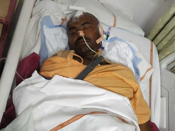 33 years old Bhaskar needs your help to recover from Accident