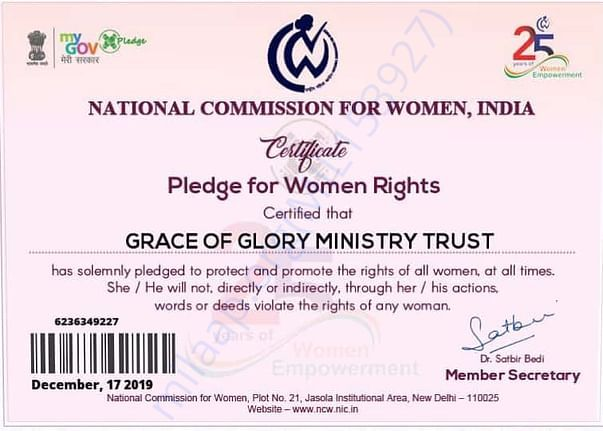 Nation Commission For Women