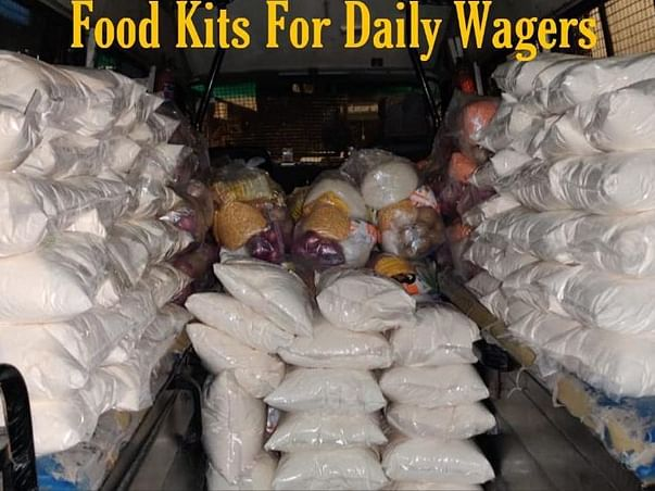 Help Daily Wage Earners to Fight Hunger during Lockdown