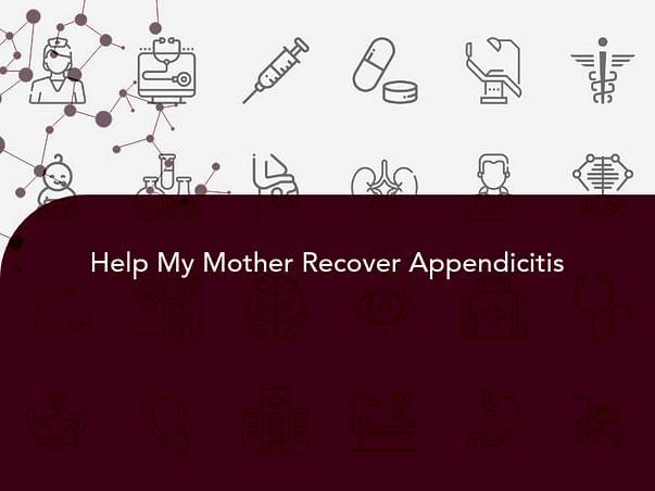 Help Sabitri for fight Cronic Appenditics