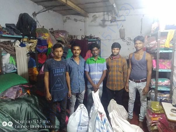 Packing and preparation - by DharmaBharti's Distribution Teeam