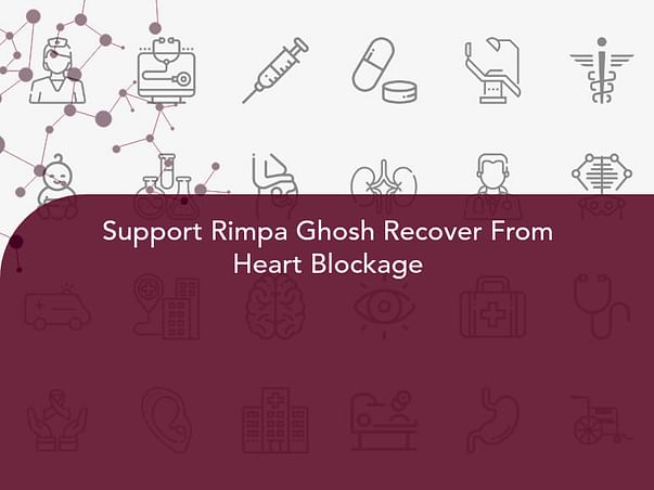 Support Rimpa Ghosh Recover From Heart Blockage