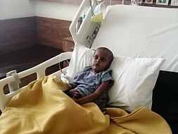 4 Years Old Sidtain Is Struggling With Septicemia, Help Him