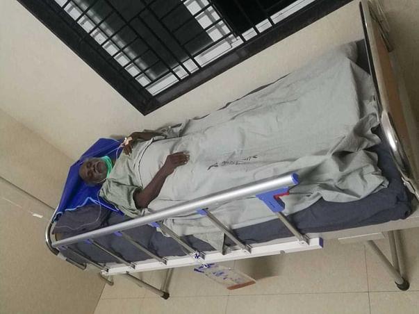 My Father is brain stock paralysis & Pelvic bone operation plz help us