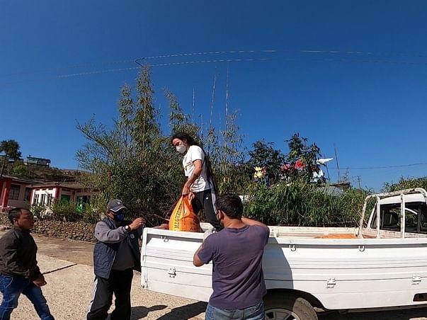 RURAL 7TREP AID_COVID19: rendering aid to rural Meghalaya