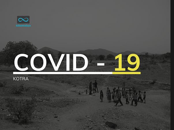 Rapid action to provide relief packets in Kotra- COVID-19