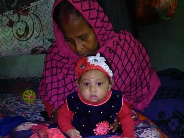 7 months old Aitree Sarkar needs your help fight Pneumonia