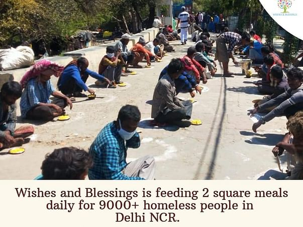 Funds to provide food and shelter for the daily wage workers