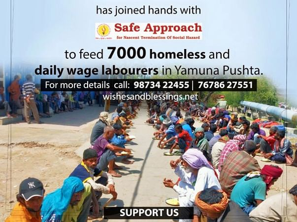Funds to provide food and shelter to the daily-wage workers (COVID-19)