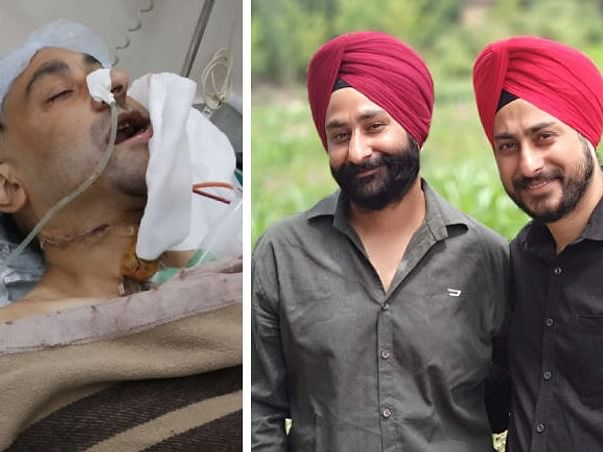 40 Years Old Jeetander Needs Your Help Fight Oral Cancer