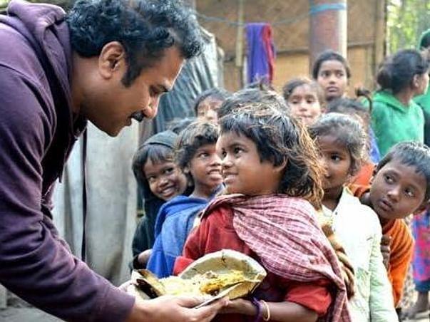 Let's Provide Food   Let's Fight Coronavirus