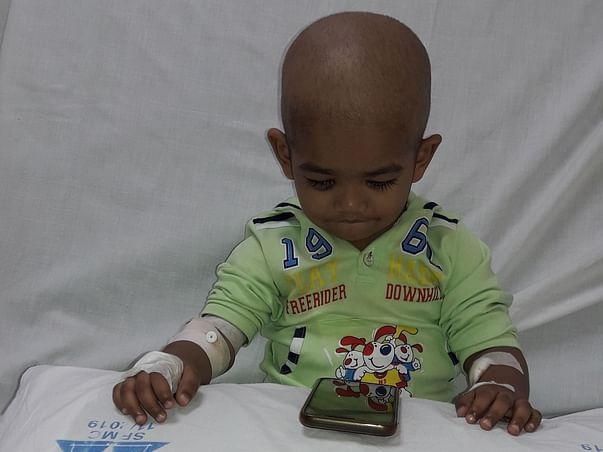 2 Years Old Ridip Karmakar Needs Your Help To Fight For Malignant Cancer