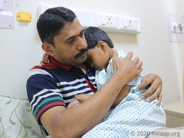 5 Years Old Panvika Needs Your Help Fight Thalassemia