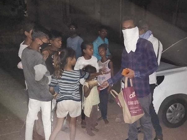 Help us provide food for those who are suffering during Covid-19