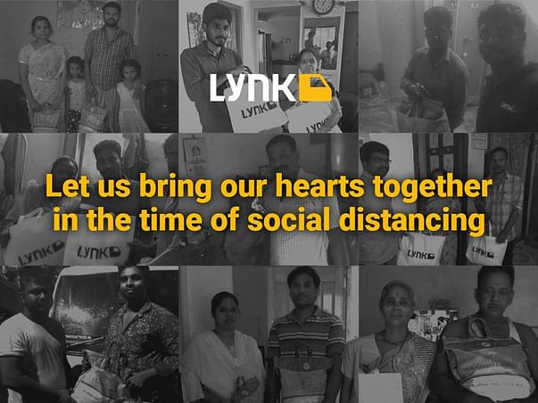 Help our Heroes. A COVID-19 initiative by Lynk Logistics