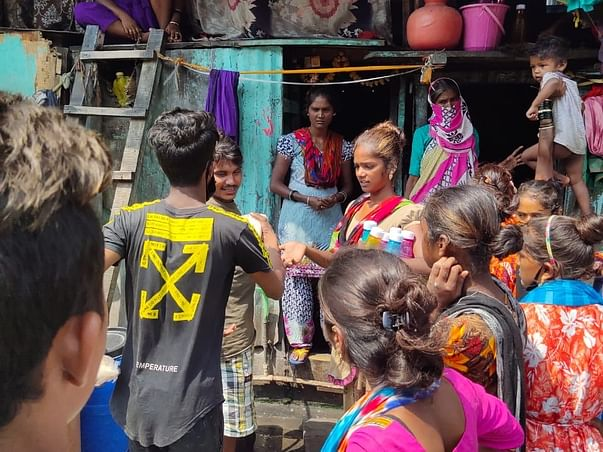 Save Mumbai. By helping Mumbai slums fight the Coronavirus.