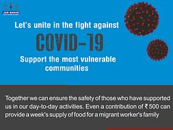 Let's unite and fight against COVID-19