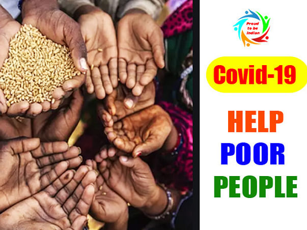 Help Poor People in COVID-19