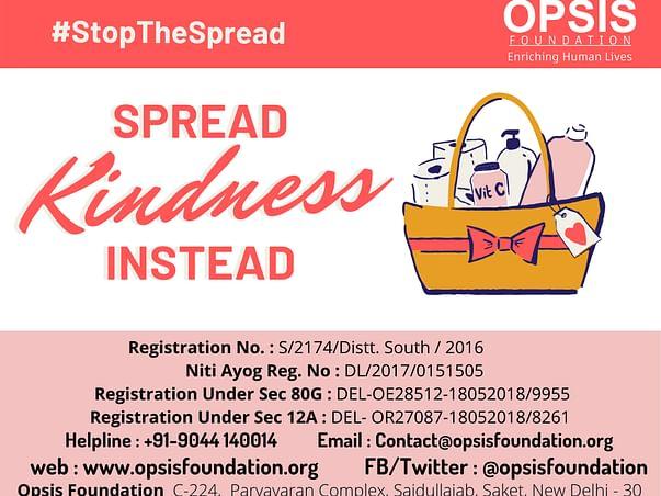 Spread Kindness Not Corona