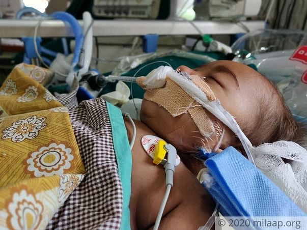 9 months old Surjo Shil needs your help fight pneumonia